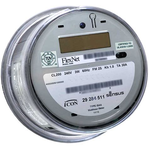 4 meters to sensus products icona electricity meters