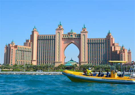 rib boat dubai yacht speedboat cruises yellow zodiac boat cruise in