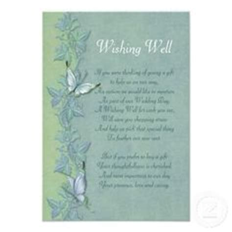 wishing well bridal shower invitations details about 50 wedding wishing well card add invitation black grey