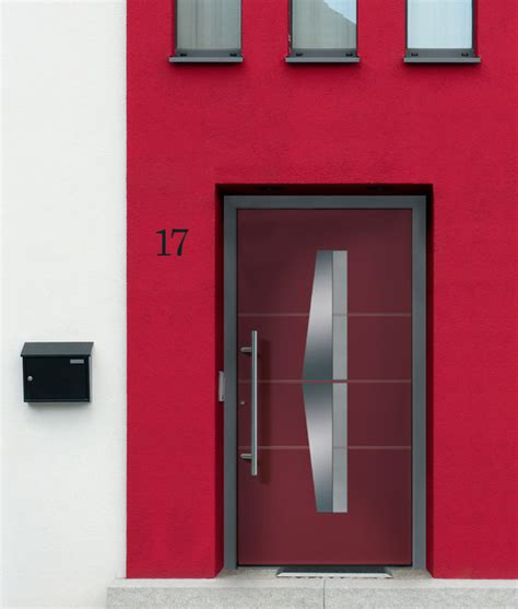 Aluminum Exterior Doors by Groke Modern Custom Aluminum Entry Door Model 12160