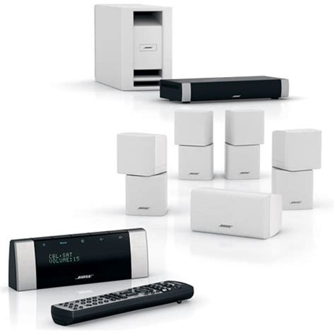 bose lifestyle v20 home theater system white 42573 b h photo