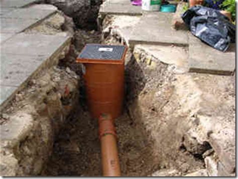 Kitchen Grease Trap Design by Self Build Tips Drainage