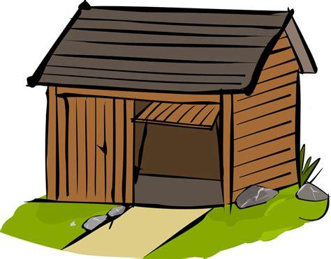 garage cartoon free wooden garage clip art