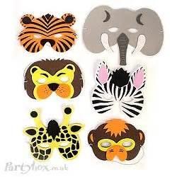 free printable animal eye masks jungle animal masks jungle party jaxons first bithday