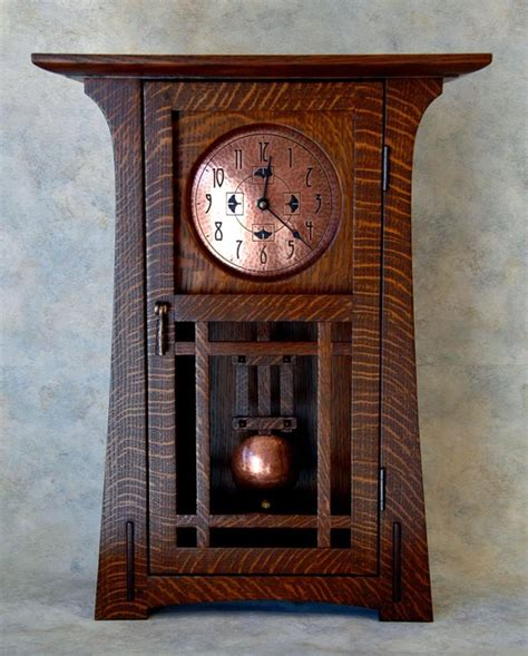arts and crafts style home decor arts and crafts style clock home decorating diy