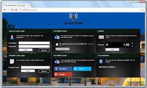 Software Billing Hotspot Professional U Wifi Cafe Hotel Restoran Dl how to create own wifi hotspot portal abi paudel s