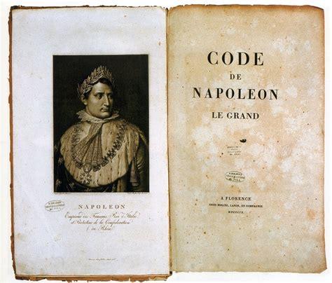 codice napoleonico testo bonesprit il periodo napoleonico