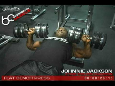 johnnie jackson bench press johnnie jackson shoulder workout 3 2 12 how to save money and do it yourself