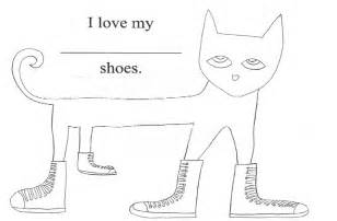 pete the cat shoe template pete the cat i my white shoes thrive after three