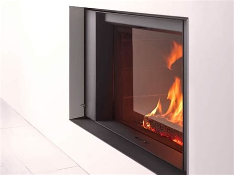Stuv Fireplace by Wood Burning Built In Fireplace With Panoramic Glass St 219 V