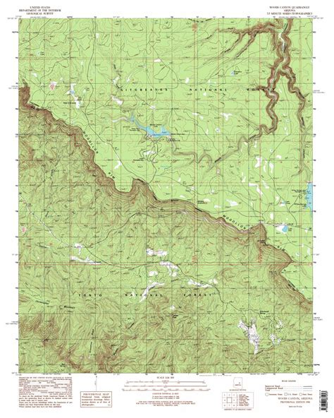 arizona topographical map woods topographic map az usgs topo 34110c8