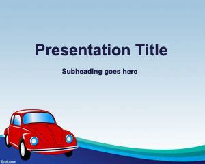 Car Powerpoint Template by Car Insurance Powerpoint Template