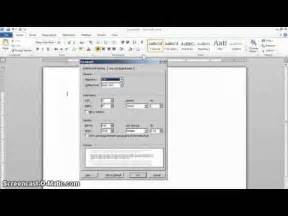 mla format setup in word 2010 youtube