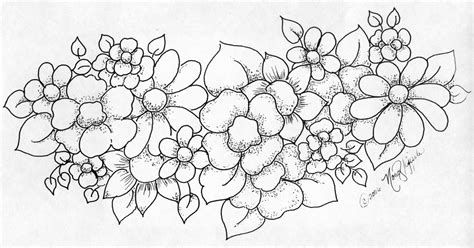 easy painting flower designs easy flower painting designs