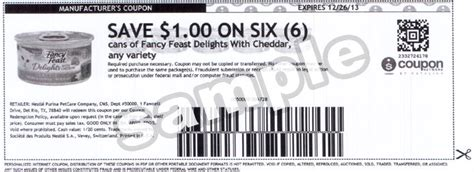 printable food coupons four fancy feast printable cat food coupons cat food coupons