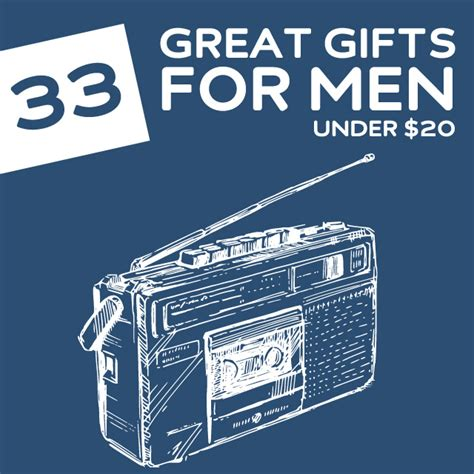 33 great gifts for men under 20 dodo burd