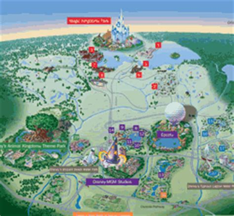 disney maps and maps of disney resorts