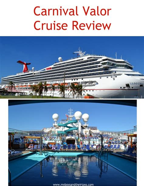 cruise reviews carnival valor cruise review family cruise my boys and