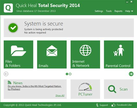 quick heal antivirus free download full version 2014 with crack download quick heal 2014 antivirus total security download