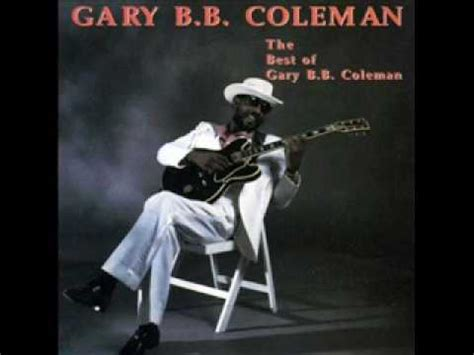 gary b b coleman gary bb coleman st james infirmary youtube