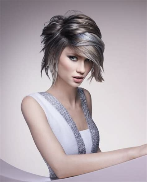 hairstyles for growing out color 61 best images about gray hair styles for women on pinterest