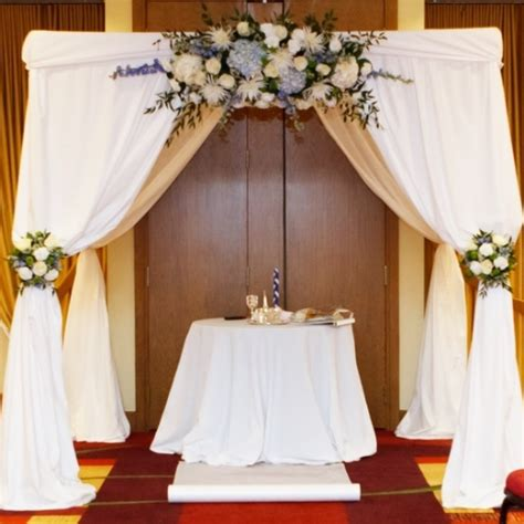 how to drape a chuppah nationwide wedding and event rentals with free shipping