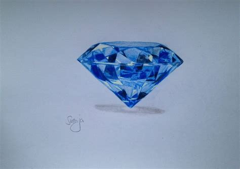 big diamond tattoo grass valley ca gallery for gt blue diamonds drawing gracieux tatouages