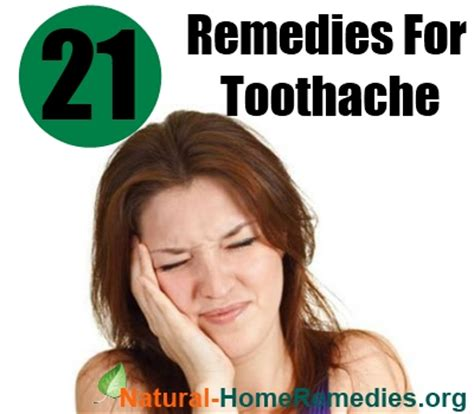 Home Remedy Toothache by How To Get Rid Of A Toothache Naturally 21 Home Remedies