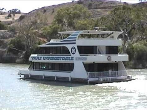houseboat australia houseboats murray river australia youtube