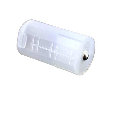 konverter barrel baterai aa ke d transparent
