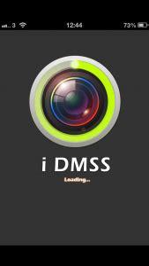 viewing a dahua nvr via an iphone using idmss | ip cctv