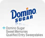 Domino Sugar Sweepstakes - case study domino sugar sweet memories qualified entry sweepstakes marden kane