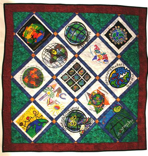 Quilting At Shirt Quilt by Cj Designs T Shirt Quilts