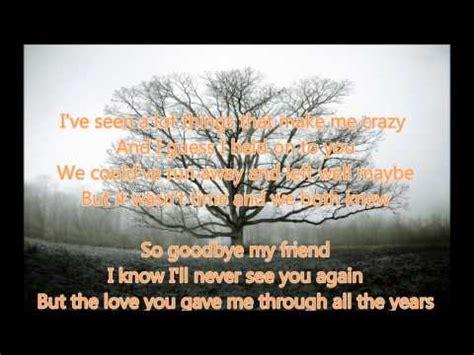 my lyrics ronstadt 5 2 mb bye my friend arron neville mp3