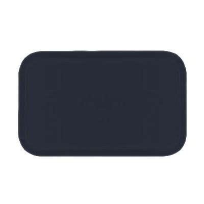 carlisle 1419fg005 rectangular cafeteria tray 38.5x50cm