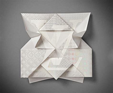 Origami Invitation - louis vuitton origami invitation issue journal of