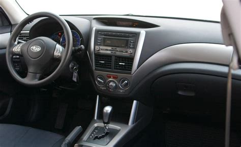 2009 subaru forester interior car and driver