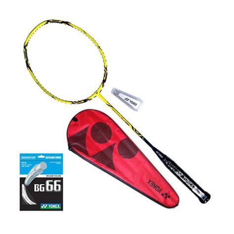 Raket Yonex Voltric 80 Jp jual yonex voltric 80 e tune yellow raket badminton harga kualitas terjamin blibli