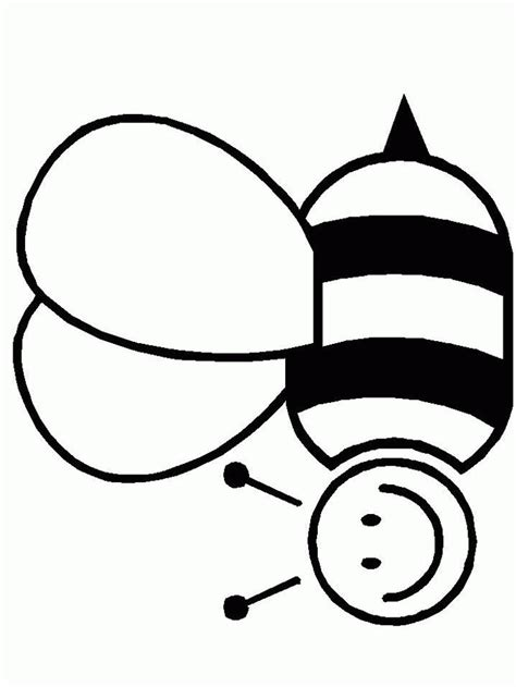 Coloring Page Of Bee by Bee Coloring Pages Coloringpagesabc