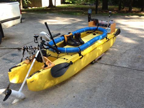 milk river motors fully rigged fishing kayak ready to go al nc wavewalk