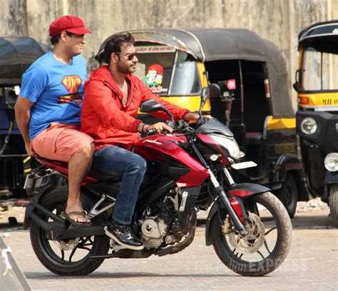 action jackson film actor photos ajay devgn sonu sood on the sets of action