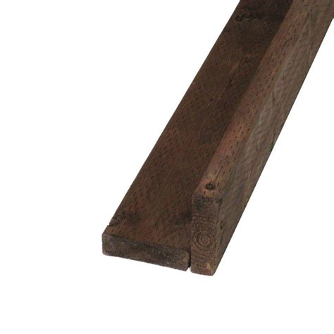 Home Depot Pressure Treated Lumber by Pressure Treated Lumber Hf Brown Stain Common 2 In X 6