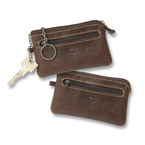 Leather Key Holder Brown camel active rodeo brown leather key holder mens