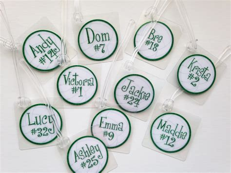free printable volleyball tags volleyball bag tags bulk order listing volleyball gifts