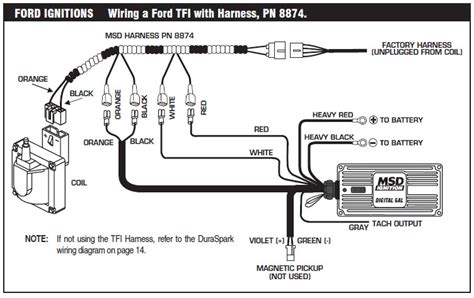 msd 6al wiring diagram ford tfi gallery wiring diagram