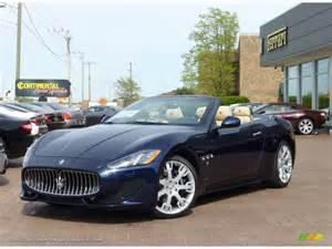 Maserati Grancabrio Blue 2013 Maserati Granturismo Convertible Grancabrio Sport In