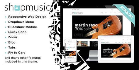 shopify themes music 35 best responsive shopify themes 2016