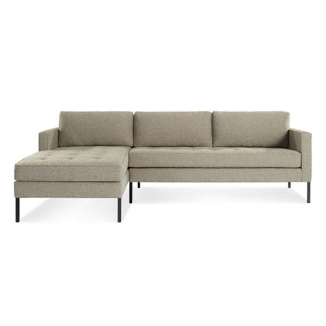 low profile sectional sofa modern chaise sofa with black wooden furniture white