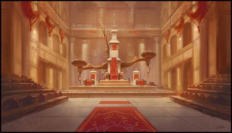 throne room by zoriy on deviantart