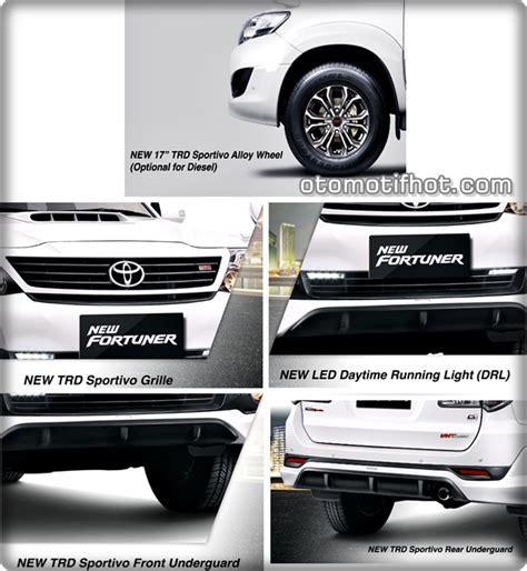 Elegans Emblem Logo Trd Sportivo Keren Untuk Mobil Kesayangan spesifikasi dan harga mobil toyota fortuner trd sportivo 2015